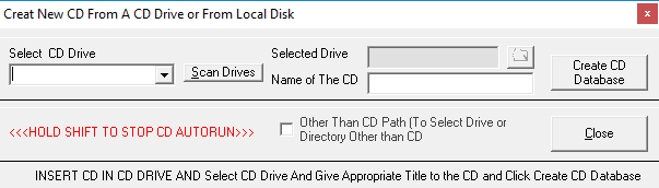 Add New CD/DVD/Drive