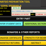 Bonafide Preparation Tool by Gopal Veeranala sujismartsolutions.in