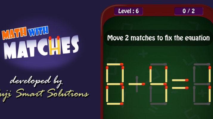 Math With Matches Puzzle Game